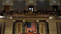 President Obama Addresses The Nation During State Of The Union Address