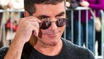 Simon Cowell attends the launch of Britain's Got Talent in March 2012