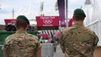 Extra Military Personnel Drafted In To Help With Olympic Security