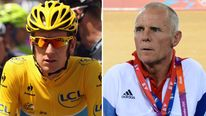 Bradley Wiggins and Shane Sutton