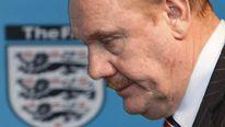 English Football Association Chief Executive Brian Barwick