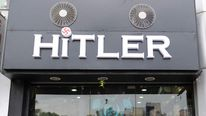 Hitler clothing shop in Ahmedabad, India