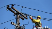 utility worker on Long Island, New York