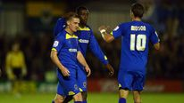 AFC Wimbledon players