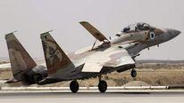 Israel air force F15 jet