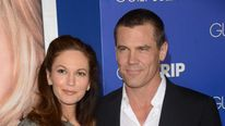Actress Diane Lane and actor Josh Brolin