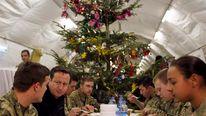 David Cameron Visits Troops In Afghanistan