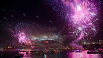 Sydney welcomes the New Year