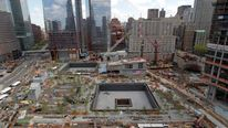 The 9/11 Memorial at Ground Zero