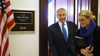 Secretary of Defense Nominee Chuck Hagel