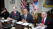 Obama And Biden Meet With Law Enforcement Officials