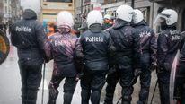 Arcelor Mittal workers clash with police in Leige
