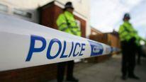 Police officers in Birmingham
