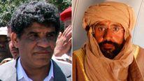 Abdullah al Senussi and Saif al Islam Gaddafi