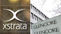 Glencore and Xstrata logos
