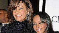 Whitney Houston and her daughter Bobbi Kristina Brown