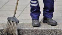 street sweeper, minimum wage