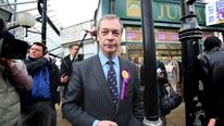 Nick Farage in Eastleigh