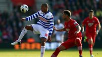 QPR's Loic Remy in action against Southampton