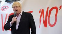 Boris Johnson Attends A Rally Against The Heathrow Expansion