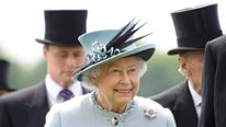 Queen Elizabeth II at Epsom Derby