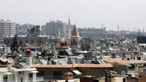 The skyline in Damascus.
