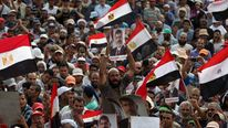 Supporters of deposed Egyptian president Mohamed Morsi