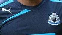 Wonga.com Logo On Newcastle United Shirt