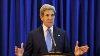 US Secretary of State Kerry Visits The West Bank