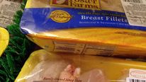 Packet of chicken produced by Foster Farms