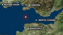 Devon earthquake