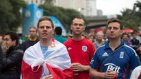 England Fans World Cup Tour - Week One