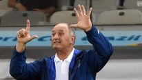 Luiz Felipe Scolari During Brazil Defeat To Germany