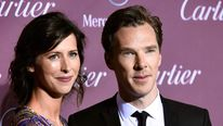 Sophie Hunter (L) and Benedict Cumberbatch