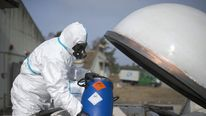 A worker at the firm contracted to destroy Syria's chemical weapons