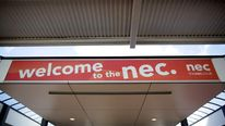 The Birmingham NEC exhibition centre