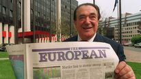 British press magnate Robert Maxwell