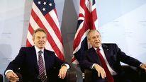 George W. Bush Prime Minister Tony Blair