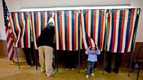 US VOTING BOOTHS