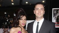 Amy Winehouse and boyfriend Reg Traviss