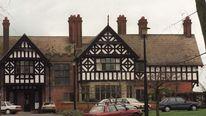 The former Bryn Estyn boys home in Wrexham