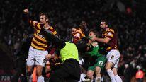Soccer - Capital One Cup - Quarter-Final - Bradford v Arsenal - Coral Windows Stadium