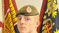 Fallen serviceman named as Kingsman David Shaw