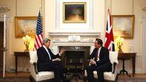 John Kerry visits UK