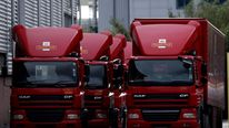 Royal mail trucks