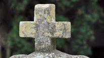 An ancient gravestone