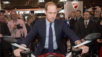 Prince William visits Birmingham