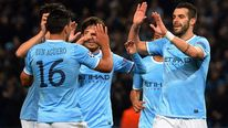 Sergio Aguero Alvaro Negredo Manchester City Champions League