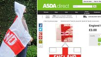 Asda's wearable England flag