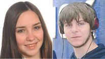 Jodie Bickerstaff and Curtis Palmer missing for over a week in South Wales